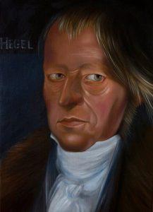 Hegel_50x70_oiloncanvas_2014